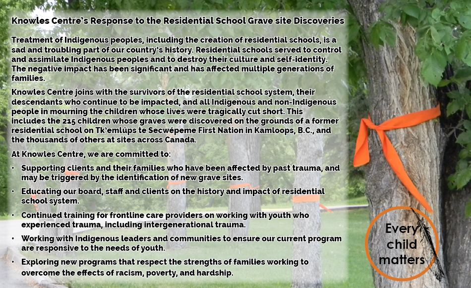 Response to discovery of Residential School Graves